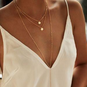 Jewelry - NEW dainty gold jewelry -3 strand